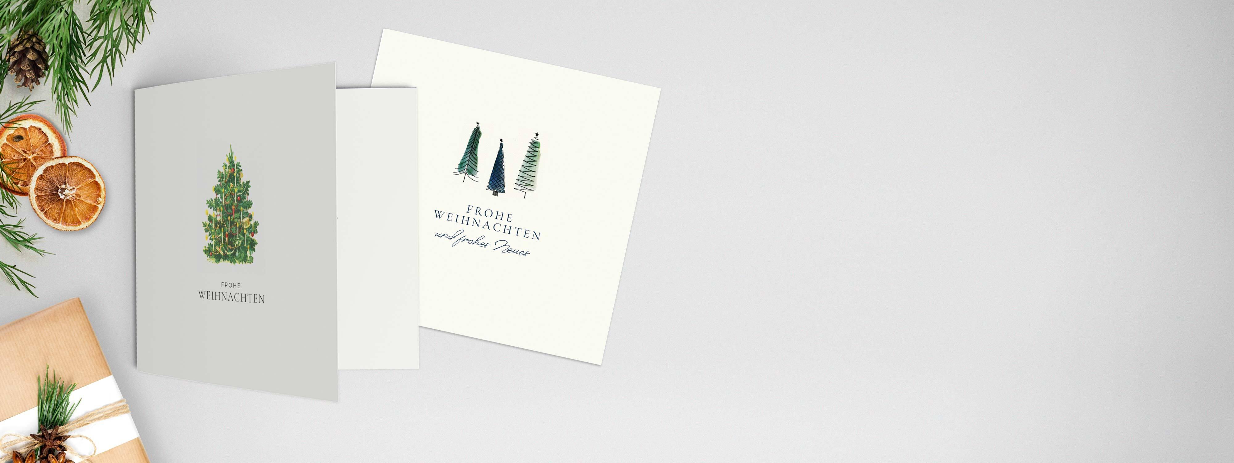 Weihnachtskarten Privat