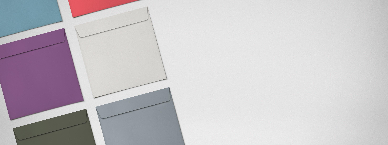 Briefumschläge Quadrat