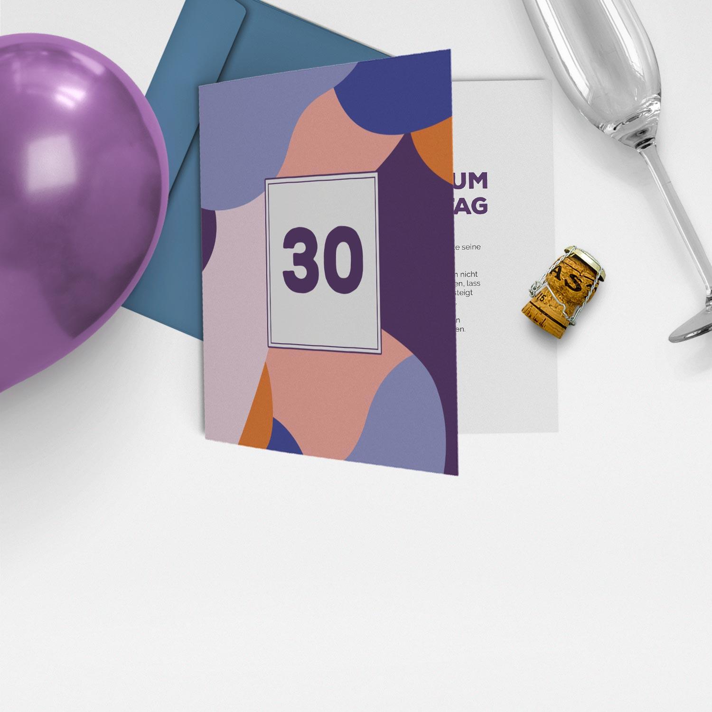 Einladungskarten 1.-99. Geburtstag