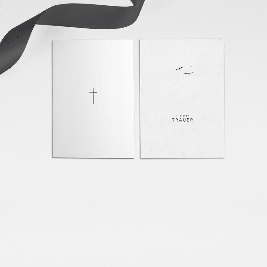 Karten zur Trauer
