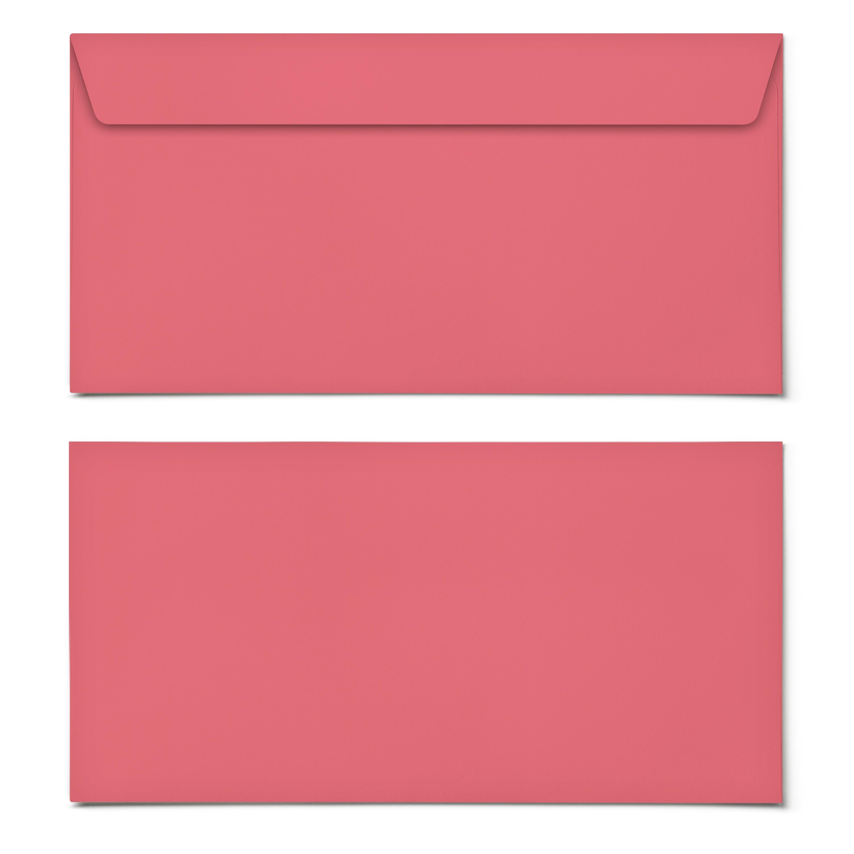 Rot Briefumschlag Kuvert Briefkuvert Umschlag Briefumschläge DIN-Lang