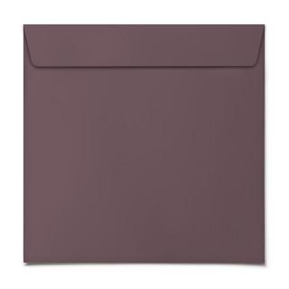 Briefumschläge - Dunkelrot - Quadrat