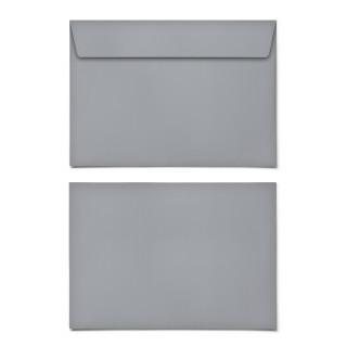 Briefumschläge - Grau - DIN C6