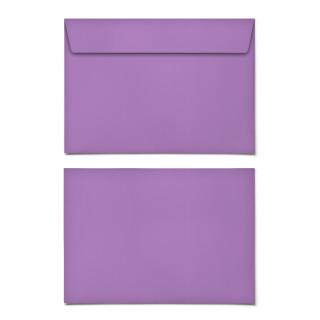 Briefumschläge - Lila - DIN C6