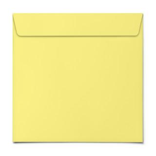 Briefumschläge - Gelb - Quadrat
