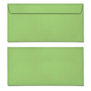 Briefumschläge - Grasgrün - DIN Lang
