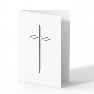 Trauerkarten - Großes Kreuz