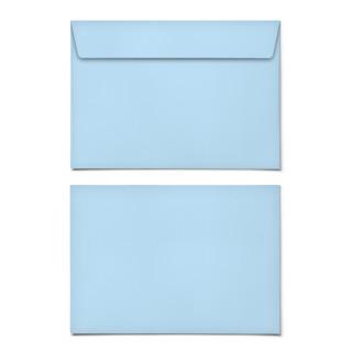 Briefumschläge - Hellblau - DIN C6