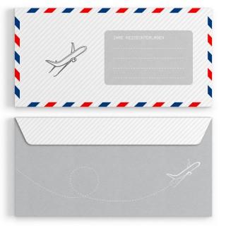 Briefumschläge - Flugticket - DIN Lang