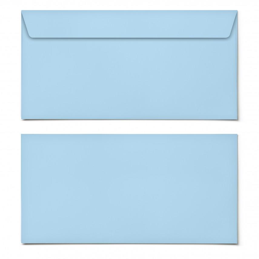 Briefumschläge - Hellblau - DIN Lang