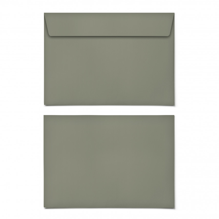 Briefumschläge - Moosgrün - DIN C6