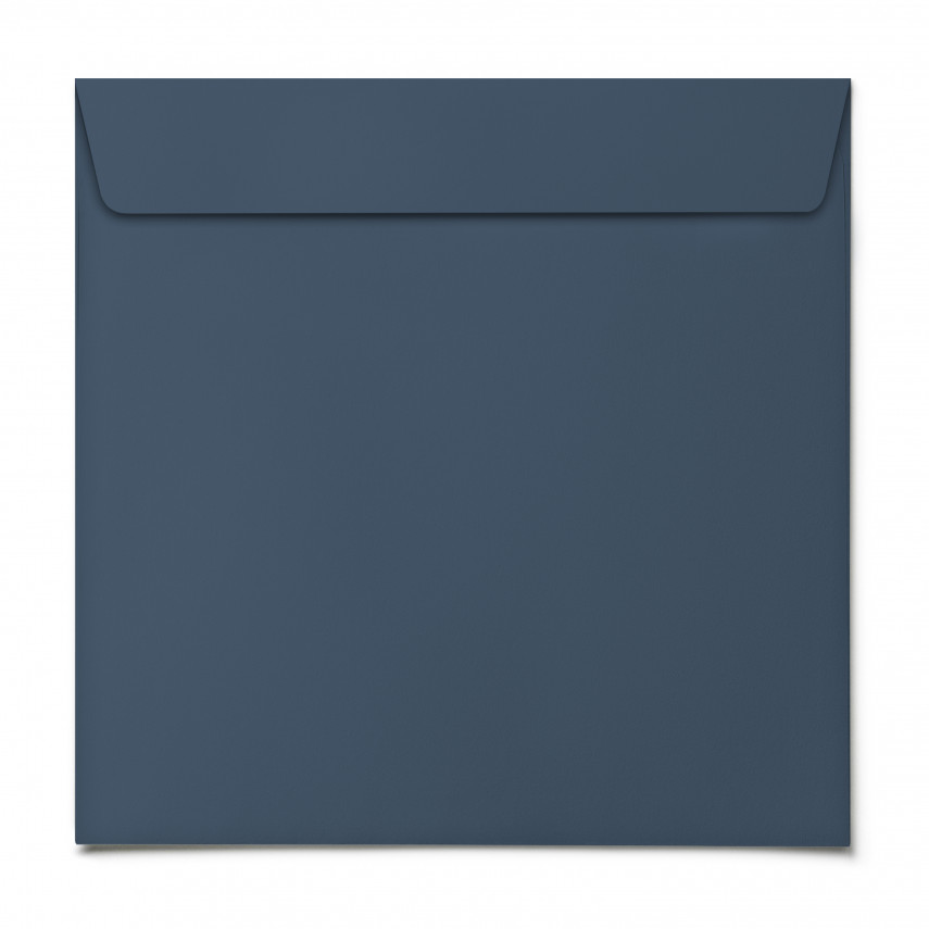 Briefumschläge - Blau - Quadrat