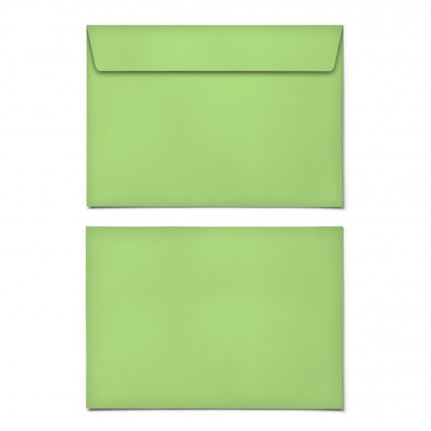 Briefumschläge - Grasgrün - DIN C6