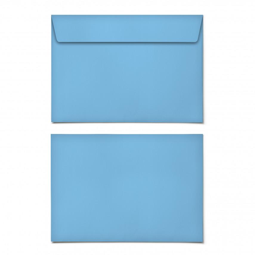 Briefumschläge - Himmelblau - DIN C6
