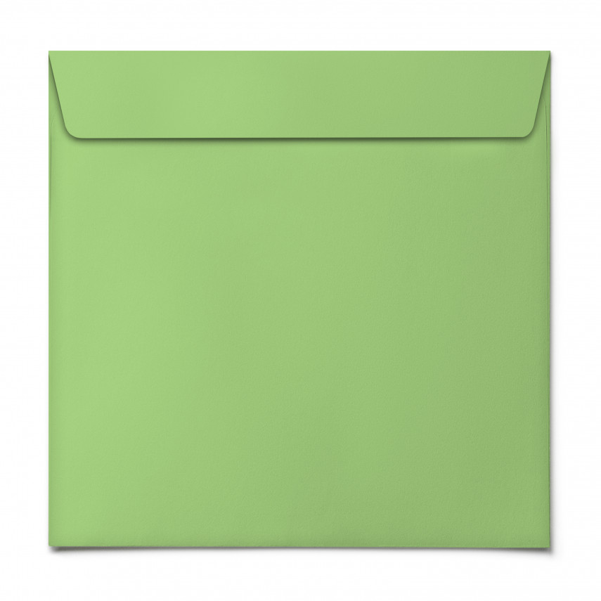 Briefumschläge - Grasgrün - Quadrat