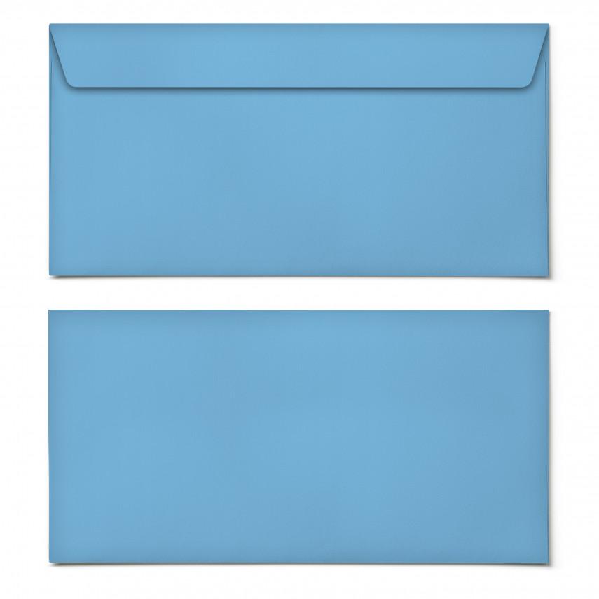 Briefumschläge - Himmelblau - DIN Lang