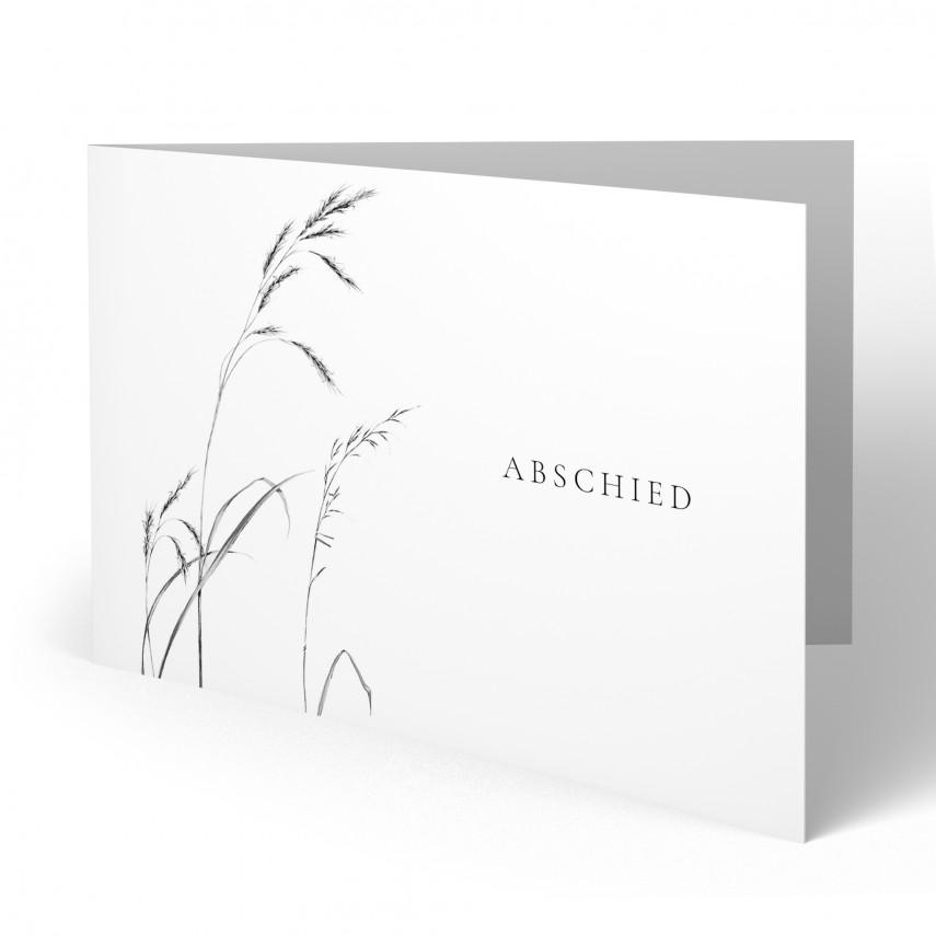 Trauerkarten - Schilf