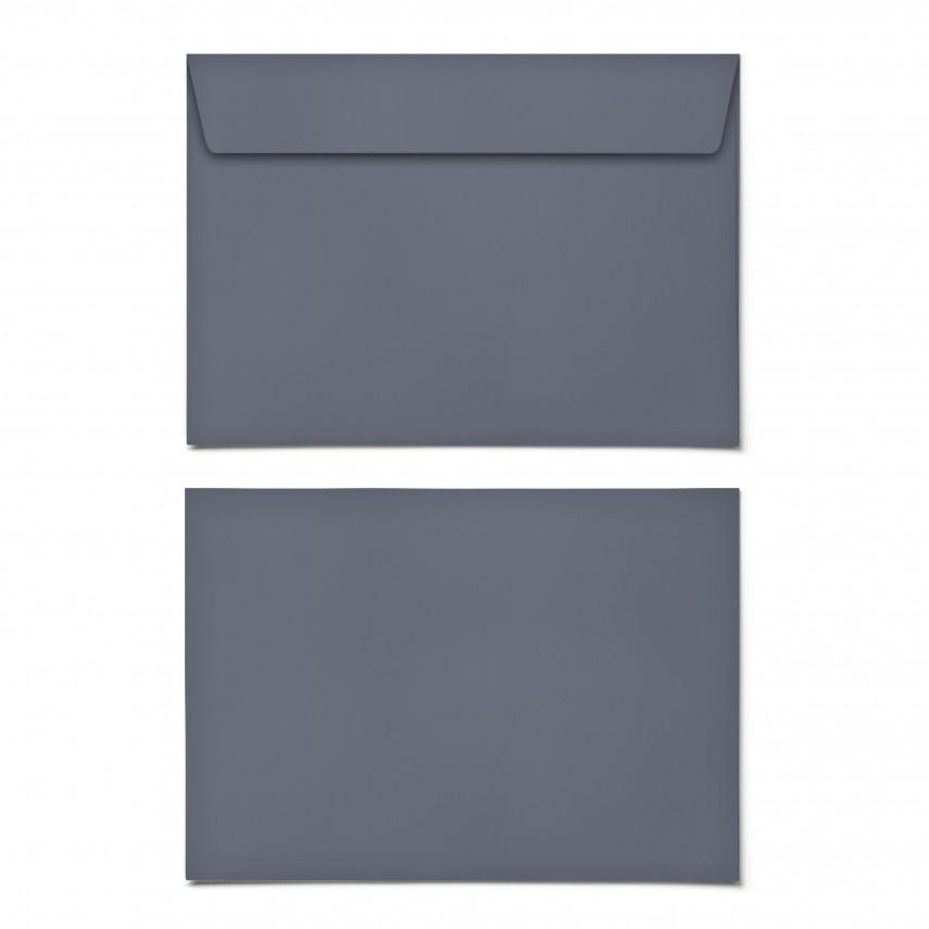 Briefumschläge - Blaugrau - DIN C6