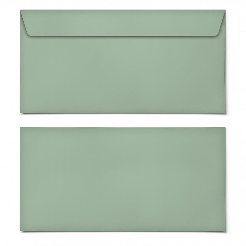 Briefumschläge - Grün - DIN Lang