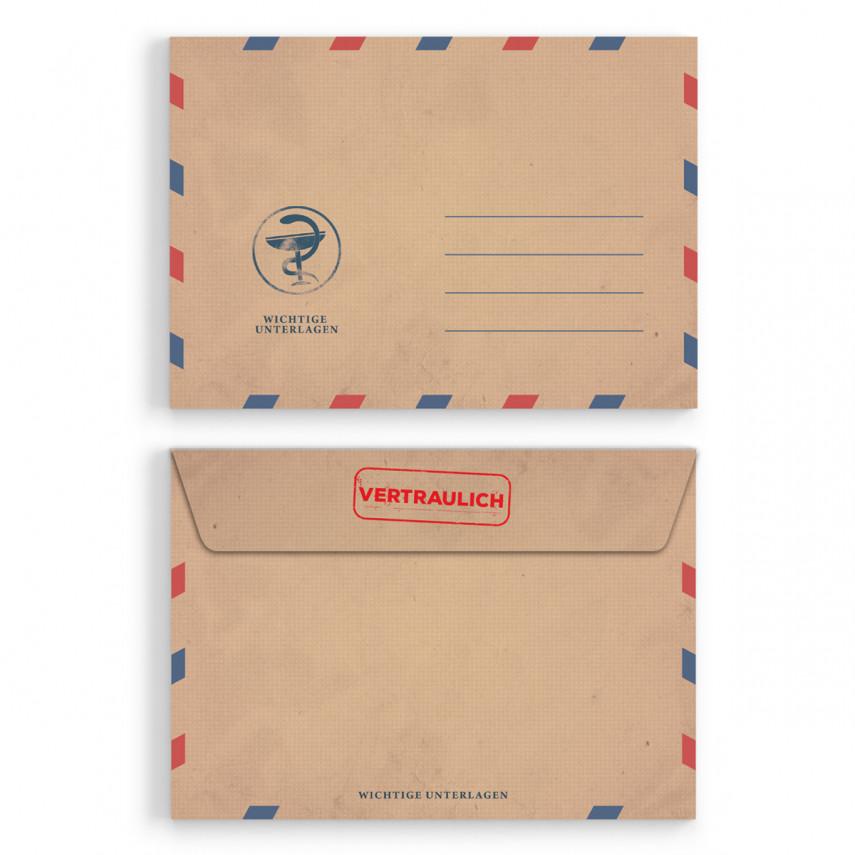 Briefumschläge - Krankschreibung - DIN C6