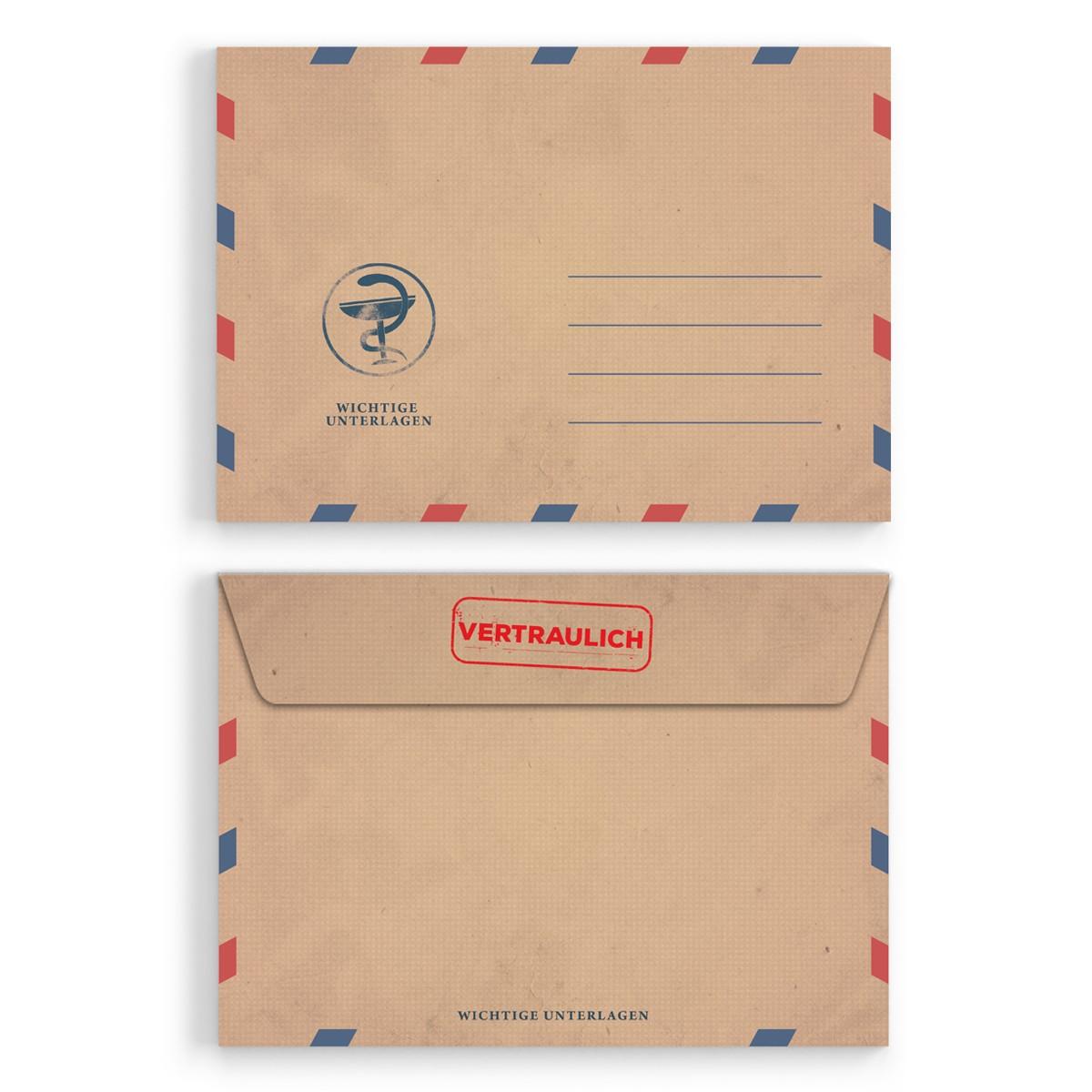 Briefumschläge krankschreibung din c6