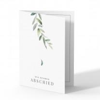 Trauerkarten - Blätter
