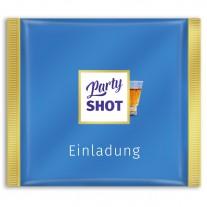 Einladungskarten als Schokoladentafel