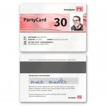 Einladungskarten als Zugticket - PartyCard
