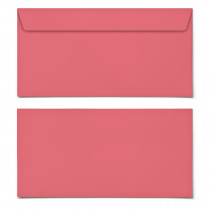 Briefumschläge - Rot - DIN Lang