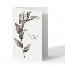 Trauerkarten - Pflanze