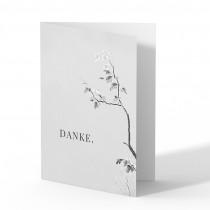 Trauer Danksagungskarten - Blüten