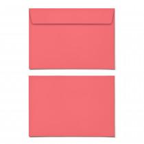 Briefumschläge - Rot - DIN C6