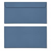 Briefumschläge - Blau - DIN Lang