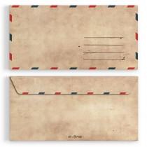 Briefumschläge - Vintage - DIN Lang