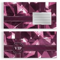 Briefumschläge - VIP Pink - DIN Lang