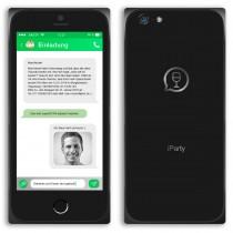 Einladungskarten als Smartphone