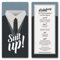 Einladungskarten - Black & White