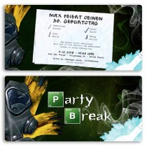 Einladungskarten - Party Break