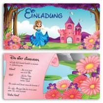 Einladungskarten - Prinzessin