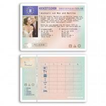 Hochzeitskarten als Führerschein