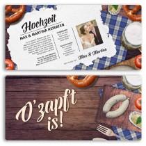 Hochzeitskarten - Hütt´n
