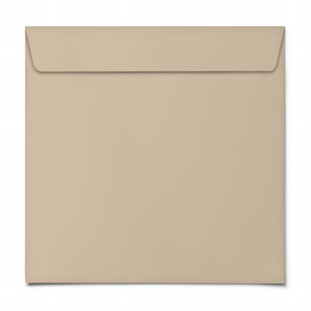 Briefumschläge - Beige - Quadrat