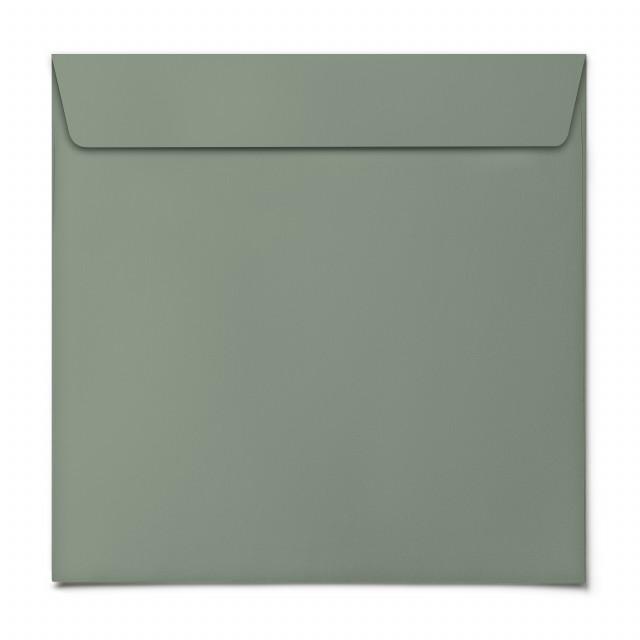 Briefumschläge - Grün - Quadrat