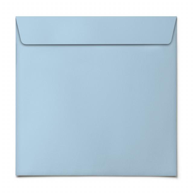 Briefumschläge - Hellblau - Quadrat