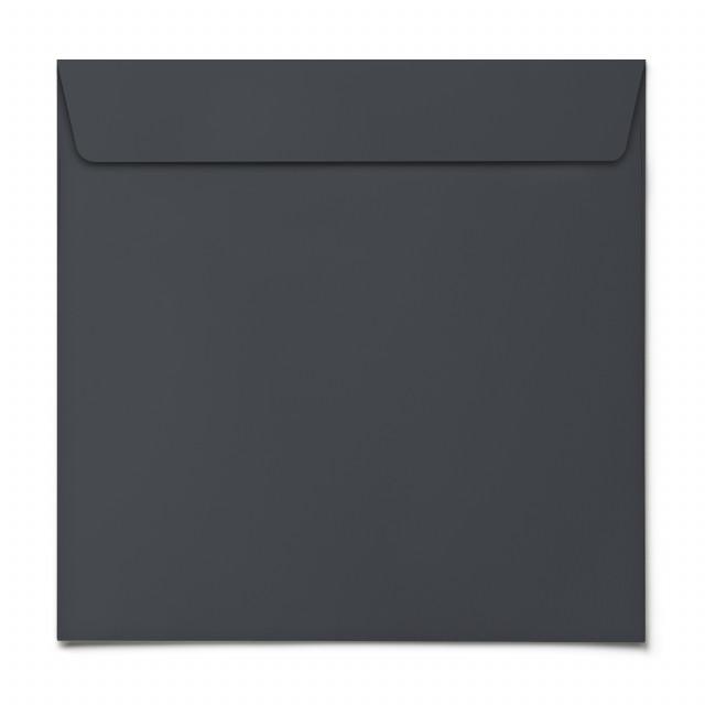 Briefumschläge - Blaugrau - Quadrat