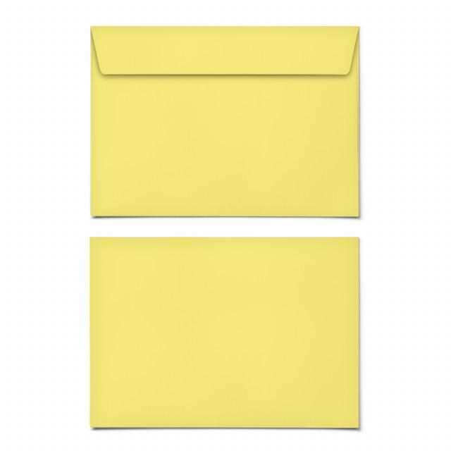 Briefumschläge - Gelb - DIN C6