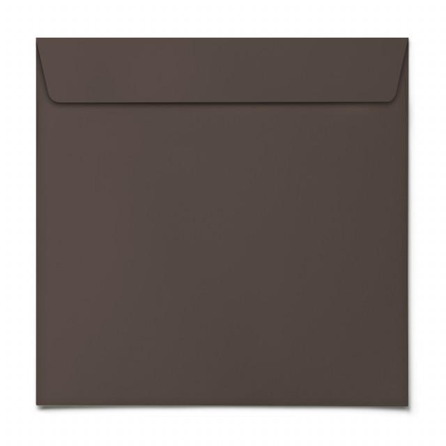 Briefumschläge - Braun - Quadrat