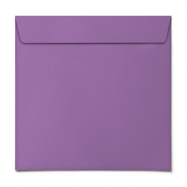 Briefumschläge - Lila - Quadrat