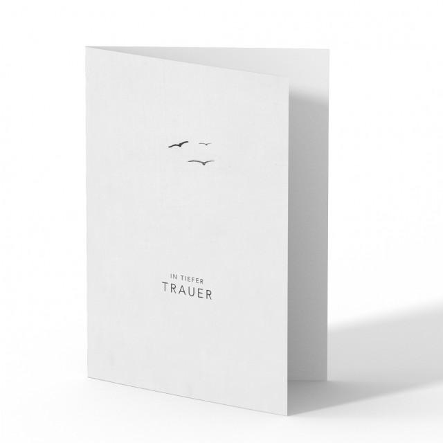 Trauerkarten - Vögel