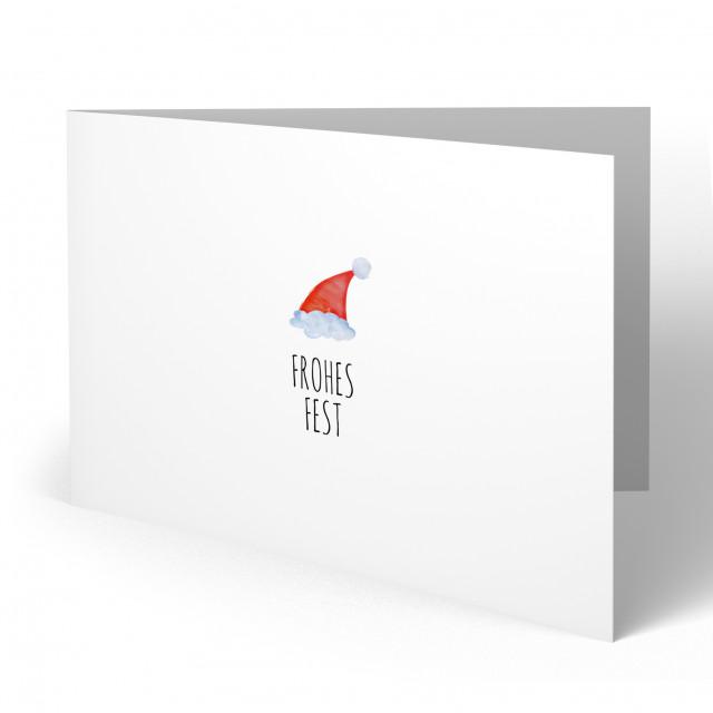 Weihnachtskarten - Nikolaus